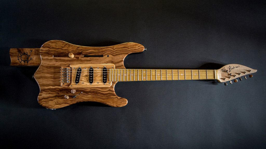 Old School handmade electric guitar